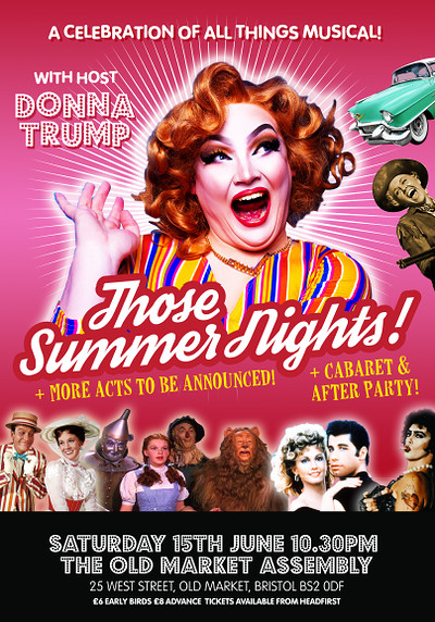 Those Summer Nights - A celebration of musicals at The Old Market Assembly in Bristol