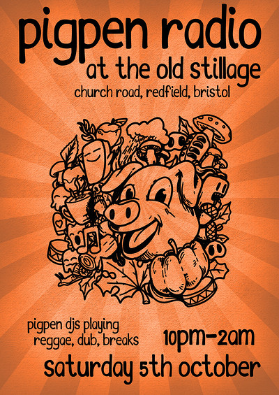 Pigpen Radio at The Old Stillage at The Old Stillage, BS5 in Bristol