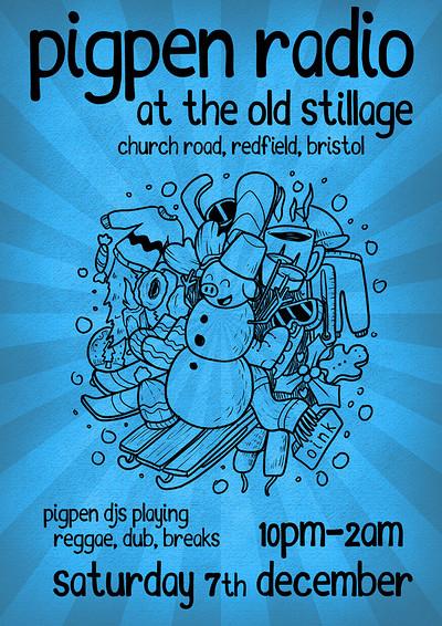 Pigpen Radio at The Old Stillage at The Old Stillage, BS5 in Bristol
