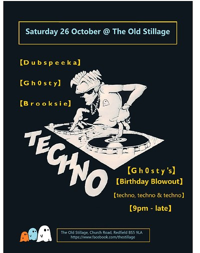 Gh0sty's Birthday Blowout at The Old Stillage in Bristol