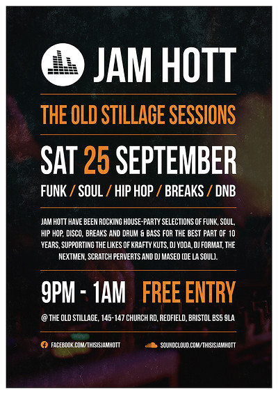 Jam Hott - The Old Stillage Sessions at The Old Stillage in Bristol
