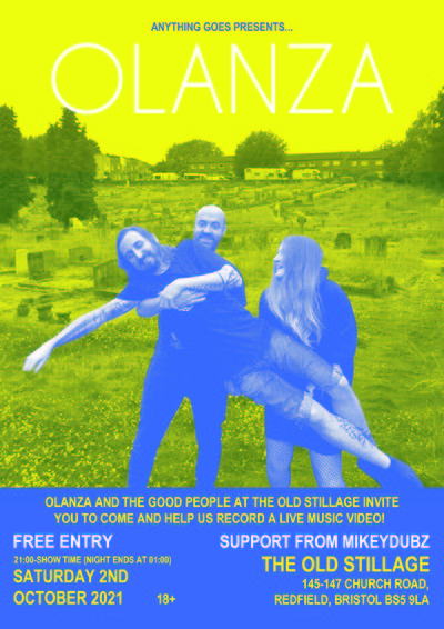 OLANZA at The Old Stillage in Bristol
