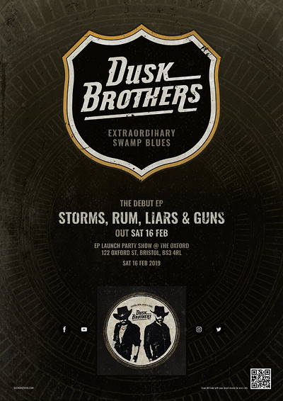 Dusk Brothers EP Launch Gig at The Oxford in Bristol