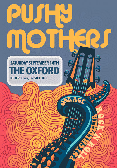 Pushy Mothers at The Oxford in Bristol