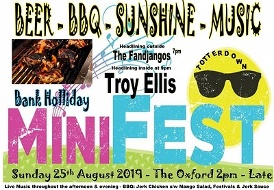 The Oxfords Big Bank Holl BBQ   at The Oxford in Bristol