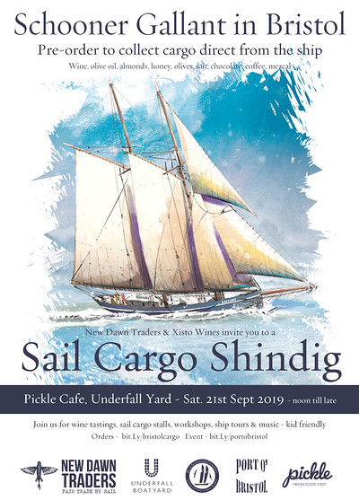 Sail Cargo Shindig  at The Pickle Cafe, Underfall Yard, Bristol Harbour in Bristol