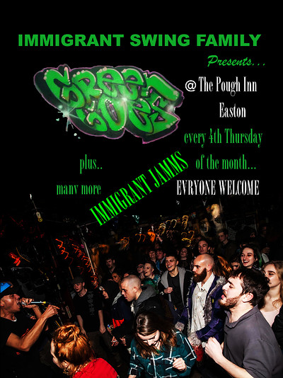 Immigrant Jamms at The Plough Inn in Bristol