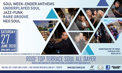TERRACE SOUL ALL DAYER  at The Radnor Rooms  in Bristol