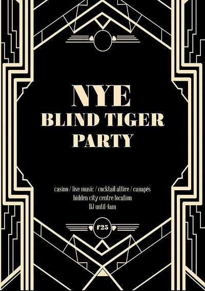 NYE - The Blind Tiger Party at The Radnor Rooms in Bristol