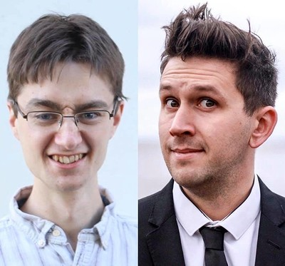 Riordan DJ and Chris Arnold: Live Comedy at The Robin Hood in Bristol