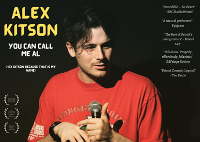 Alex Kitson: You Can Call Me Al at The Room Above in Bristol