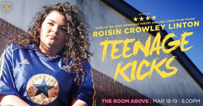 Roisin Crowley Linton - Teenage Kicks at The Room Above in Bristol