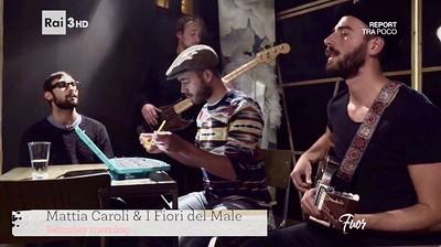 Mattia Caroli and I Fiori del Male at The Spin Bar in Bristol
