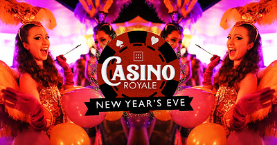 Casino Royale New Year's Eve Party at The Square at The Square Club in Bristol