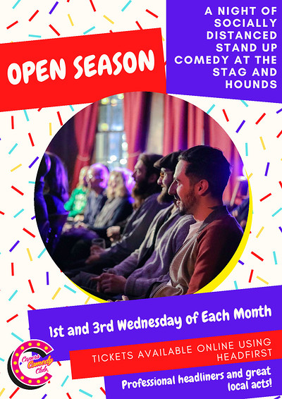 Capers Comedy Club: Open Season at The Stag And Hounds in Bristol