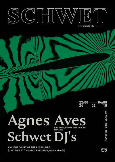 Schwet with Agnes Aves at The Stag And Hounds in Bristol