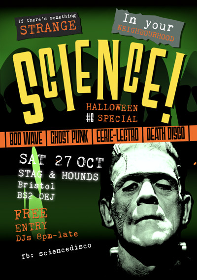 Science! presents Dead Man's Party at the Stag at The Stag And Hounds in Bristol