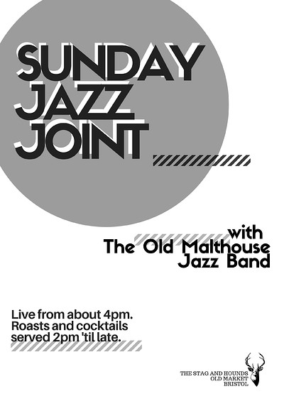 Sunday Jazz Joint -The Old Malt House Jazz Band at The Stag And Hounds in Bristol