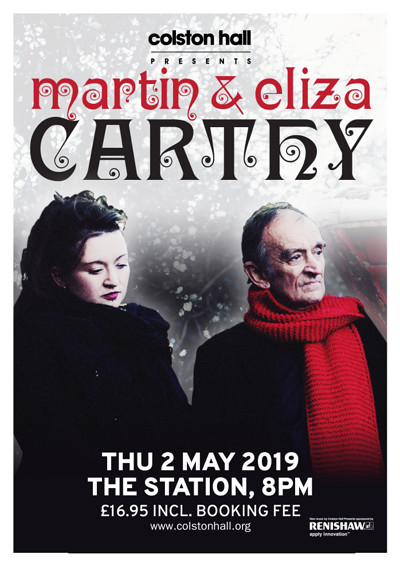 Martin & Eliza Carthy at The Station in Bristol