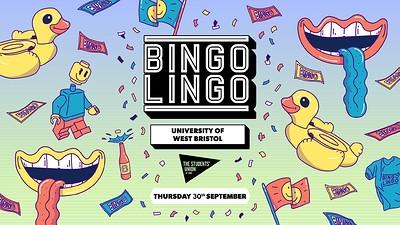 Bingo Lingo: UWE Bristol at The Students' Union at UWE in Bristol