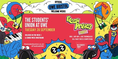 Fresh Prince Party at The Students' Union at UWE in Bristol