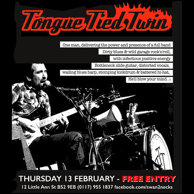 Tongue Tied Twin w/Craig Shaw at The Swan With Two Necks in Bristol