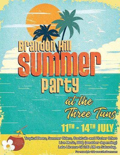 Brandon Hill Summer Festival at The Three Tuns in Bristol