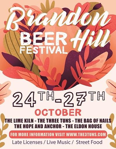 Max Harrison & Henry Slim @ Brandon Hill Beer Fest at The Three Tuns in Bristol