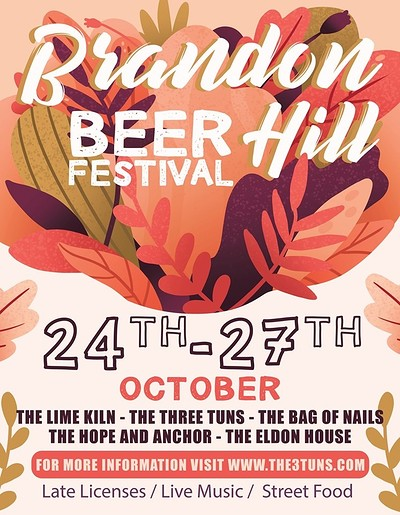 Red Ray & The Reprobates & Brandon Hill Beer Fest at The Three Tuns in Bristol