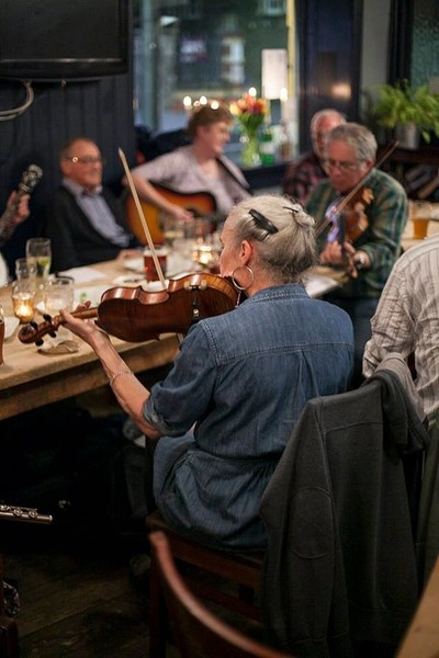 The Three Tuns Irish folk night at The Three Tuns in Bristol