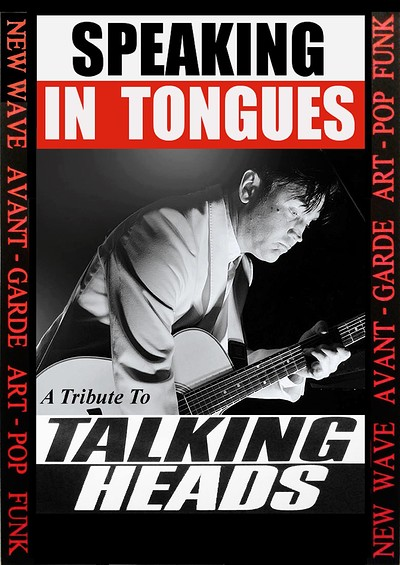 SPEAKING IN TONGUES (Talking Heads Tribute) at The Thunderbolt in Bristol