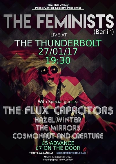 The Feminists (Berlin) + Support at The Thunderbolt in Bristol
