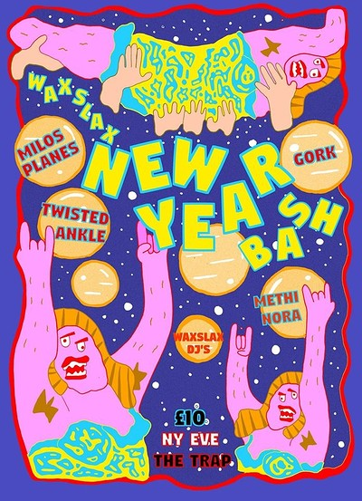 New Year Bash at The Trap in Bristol