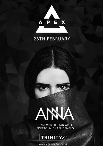 Apex Presents ANNA at The Trinity Centre in Bristol
