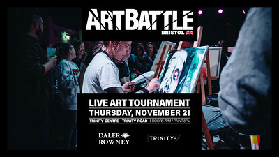 Art Battle November at The Trinity Centre in Bristol