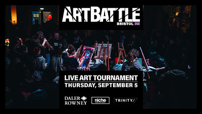 Art Battle September at The Trinity Centre in Bristol