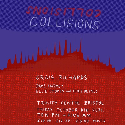 Collisions 001: Craig Richards, Dave Harvey & more at The Trinity Centre in Bristol