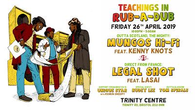 Mungos Hi Fi vs Legal Shot at The Trinity Centre in Bristol