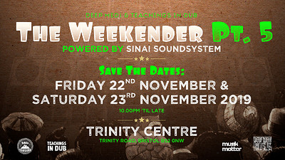 TID x DEEP MEDi - The Weekender Pt.5 at The Trinity Centre in Bristol