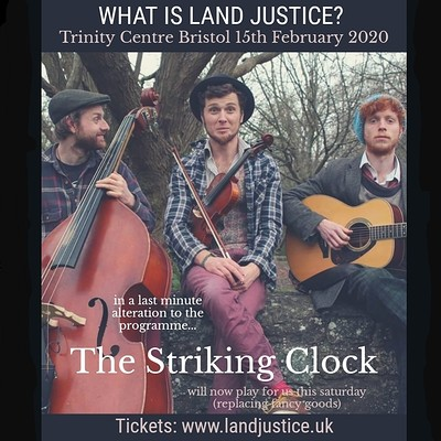 What is Land Justice? It's a fundraiser!  at The Trinity Centre in Bristol
