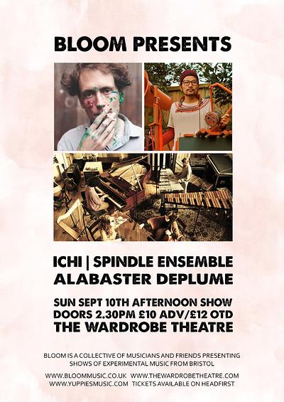 Bloom Presents: Alabaster dePlume at The Wardrobe Theatre in Bristol