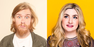 Bobby Mair &  Harriet Kemsley at The Wardrobe Theatre in Bristol