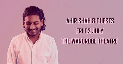 Chuckle Busters: Ahir Shah & Guests at The Wardrobe Theatre in Bristol