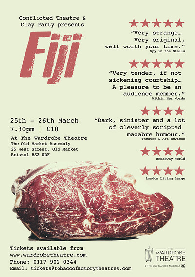 Fiji at The Wardrobe Theatre in Bristol