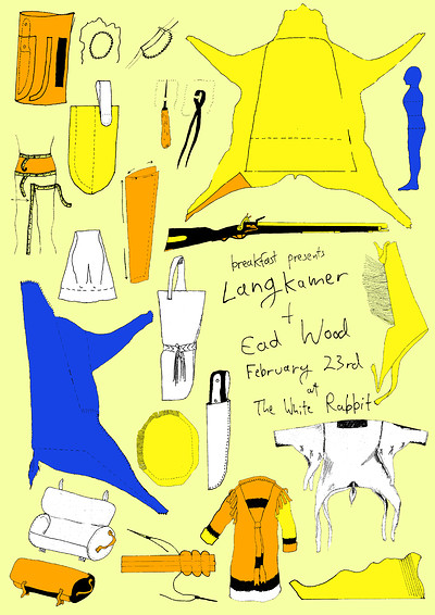 Breakfast Records presents Langkamer + Ead Wood at The White Rabbit in Bristol