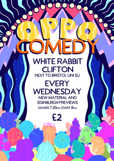 Oppo Comedy with Headliner Ali Woods at The White Rabbit in Bristol