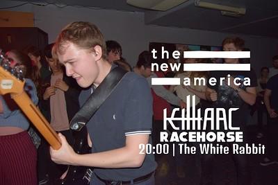 The New America / KillIarc / Racehorse at The White Rabbit in Bristol