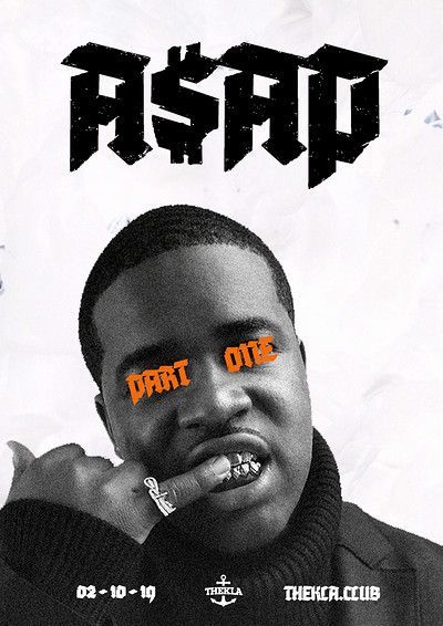 A$AP - Part One at Thekla in Bristol