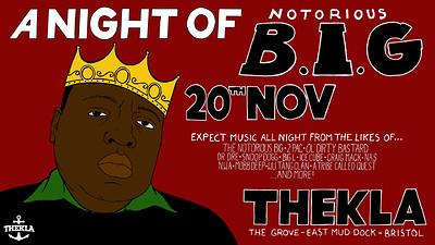 A Night Of: The Notorious B.I.G at Thekla in Bristol