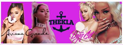 Ariana Grande x Doja Cat  at Thekla in Bristol